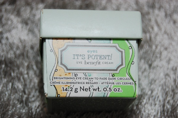 Benefit it's potent! eye cream R$100